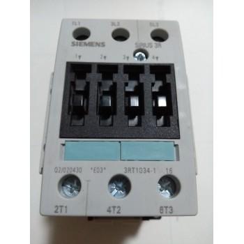 Contactor Siemens Contactos Auxiliares 2NA+2NC 3RT10341AN16