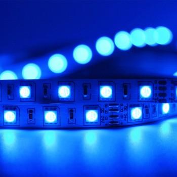 Tira De 300 Luces Led 5 Mts 5050 Decoracion Azul