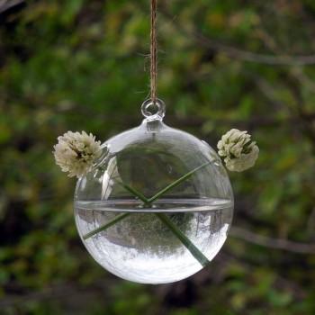 Paq 30 Pzas Florero Colgante Esfera