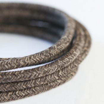 Cable Textil Rustico Cafe