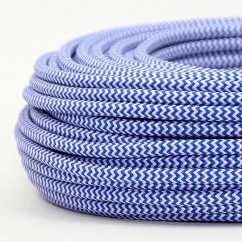 Cable Textil Vintage Eléctrico Retro Lámparas Decoración Oceano Slim