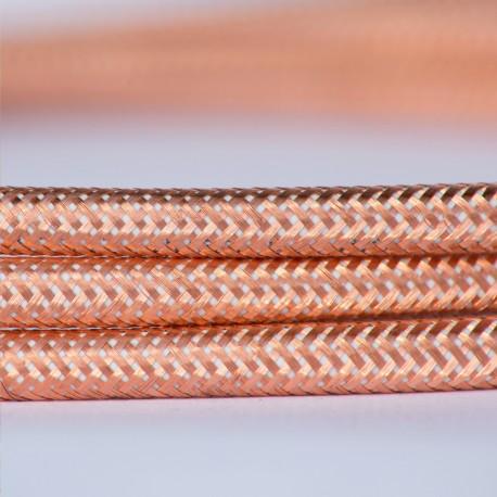 Cable Vintage Electrico Metalico Cobre