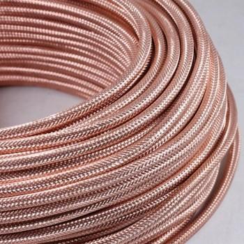 Cable Vintage Metalico Cobre