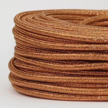 Cable Textil Glitter Dorado