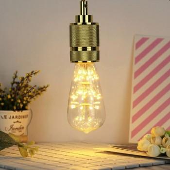 Foco Edison Vintage Led Retro Luz Calida Clasico Fairy 4w