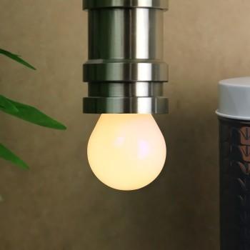 Foco LED Edison Vintage Repuesto Luz Cálida Miniglobo Frosted Cálido 4W