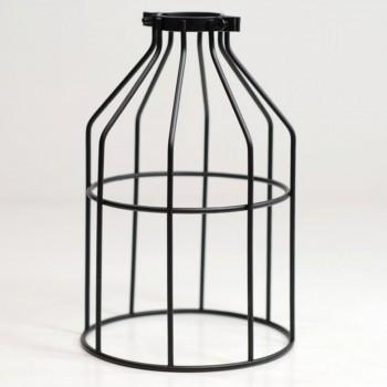 Jaula Vintage Decoración Diseño Lámparas Retro Edison Birdcage Negro