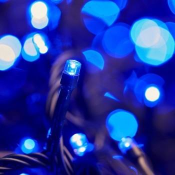 Serie 50 Luces Follaje Azul