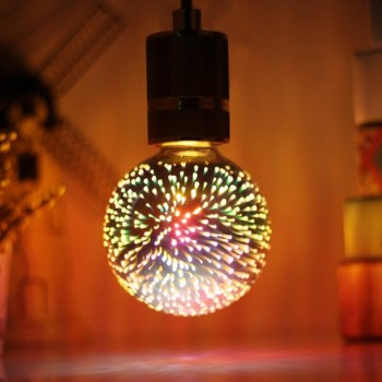 Foco Edison Vintage Retro Led Luz Calida Bombilla Fireworks 4w