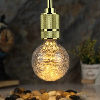 Foco LED Edison Luces Decorativas Luz Cálida Bombilla Fairy Dust 2W