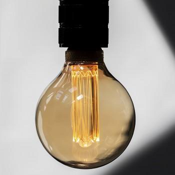 Foco LED Edison Antiguo Vintage Elegante Luz Cálida Bombilla Glow 4W