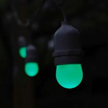 Foco Verde Decoración Fiesta Evento Cumpleaños Miniglobo LED E27 1W