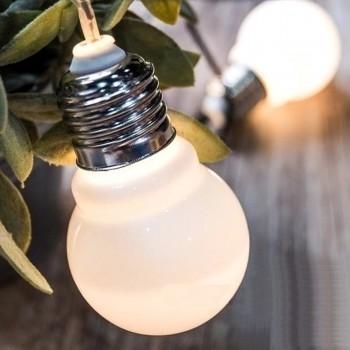 Luces Bombillos LED Plástico Vintage Decoración Evento Cálido 3.5 Mts