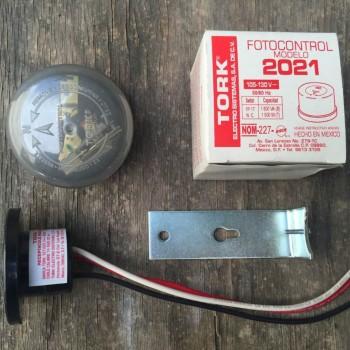 Fotocelda Tork 2021 110v Encendido Apagado Automático Focos Lámparas
