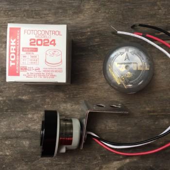 Fotocelda Tork 2024 220v Encendido Apagado Automático Focos Lámparas