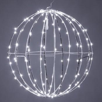 Esfera de Luces LED Decorativas Eventos Bodas Navidad Blanco 30 Cms