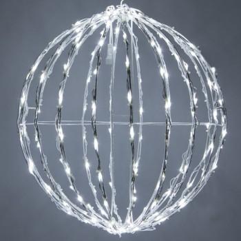 Esfera de Luces LED Decorativas Eventos Bodas Navidad Blanco 45 Cms