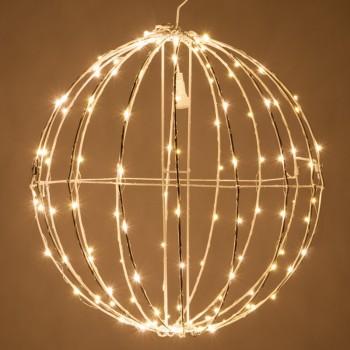 Esfera de Luces LED Decorativas Eventos Bodas Navidad Cálido 30 Cms