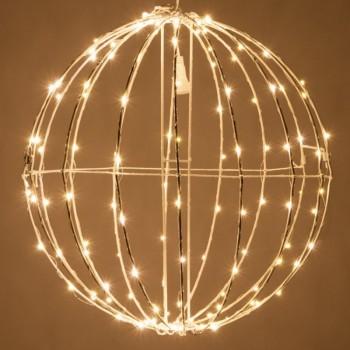 Esfera de Luces LED Decorativas Eventos Bodas Navidad Cálido 45 Cms