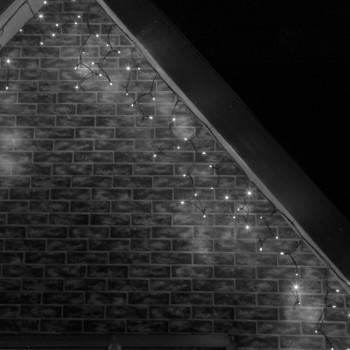 Cascadas Luces LED Navidad Evento Boda Decoración Blanco Frio 6 Mts