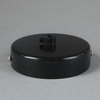 Base Para Lámparas De Techo Chapetón Canope Soporte Clásico Negro