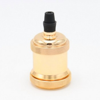 Socket Acero Dorado