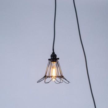 Lámpara Jaula Florette Enchufe
