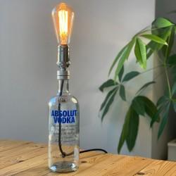 Lámpara Botella Vodka Absolut