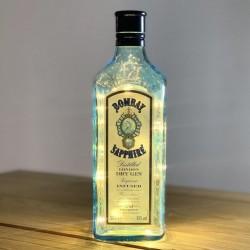 Botella Luces Bombay Shappire