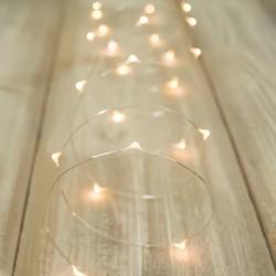 Luces de Hadas Cálido Micro LED Decorativas Boda Evento Navidad 10 Mts