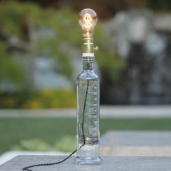 Lámpara Botella Transparente