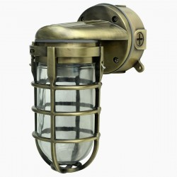 Lampara Vintage Industrial Miner Cuello de Cisne