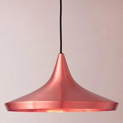 Lámpara Colgante Techo Decorativa Sala Oro Rosa Cobre Beat Copper Wide