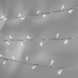 Luces Led Series Interconectables Luz Fija Transparente Blanco 15 Mts