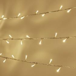 Luces Led Series Interconectables Luz Fija Evento 15 Mts Blanco Cálido