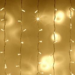 Cortina de Luces LED Boda Evento Decoración Vintage Cálido 3 X 3 Mts